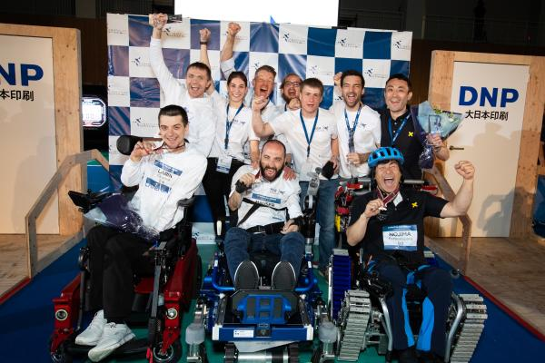 Podium CYBATHLON Series 2019